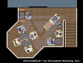 Class A Aluminum Deck System by Versadeck Decking - Fire ...